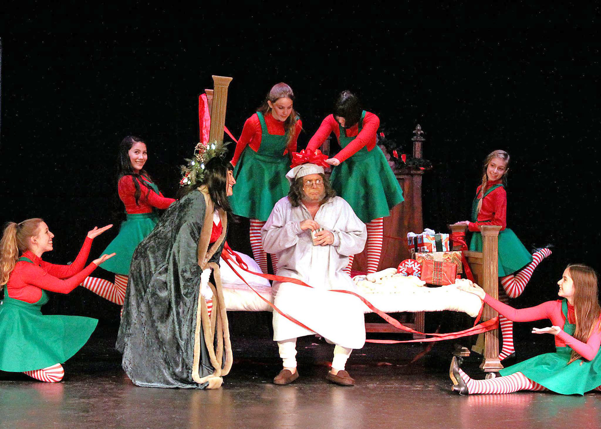 N Scrooge and the Elves