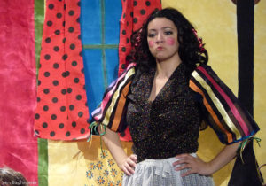 Nedda is Colombina in the commedia